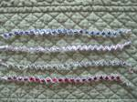 Sparkling Swirls bracelet beading class